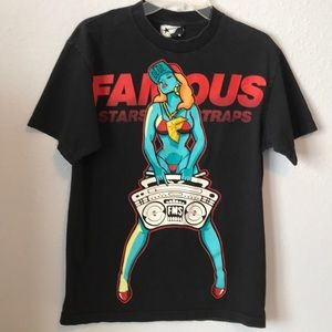 Famous Stars and Straps graphic tee